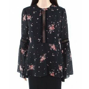 Show Me Your Mumu Black Floral Blouse